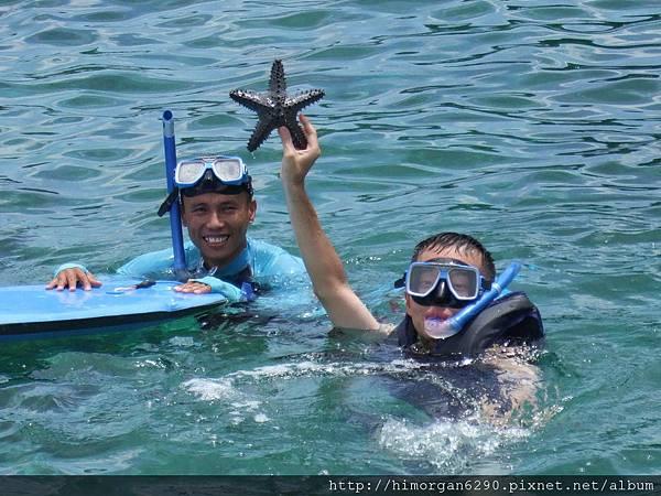 長灘島浮潛-3