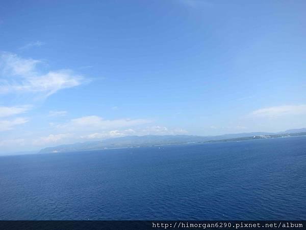 長灘島拖曳傘上面風景-1