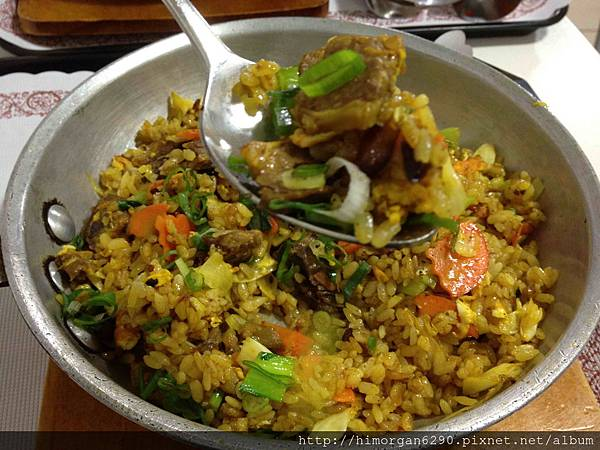 印度風咖哩香烤牛肉飯-1
