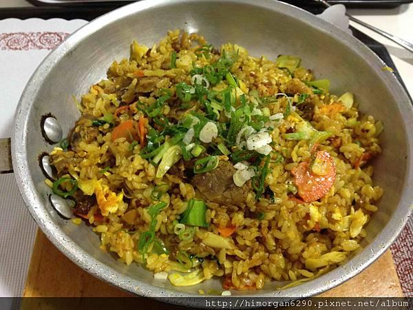 印度風咖哩香烤牛肉飯