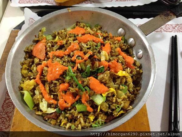 印度風咖哩香烤培根燒肉飯+辣