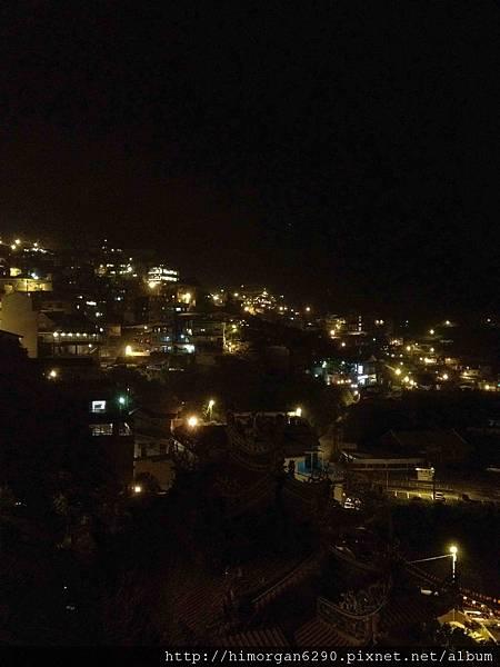九份馬克村莊3樓陽台夜景-2