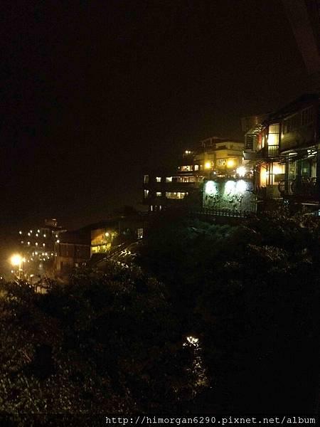 九份老街夜景-2