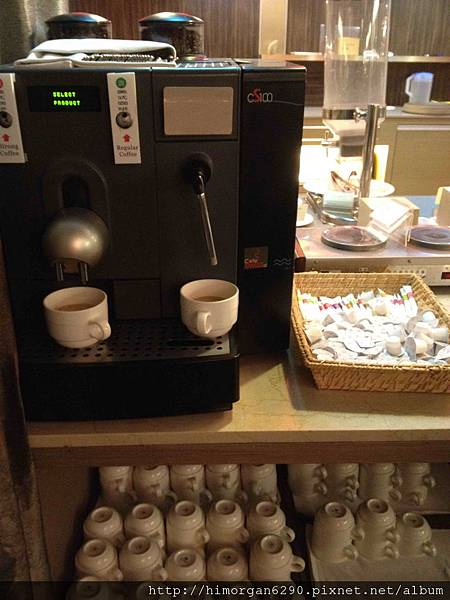 台中文華道會館咖啡機