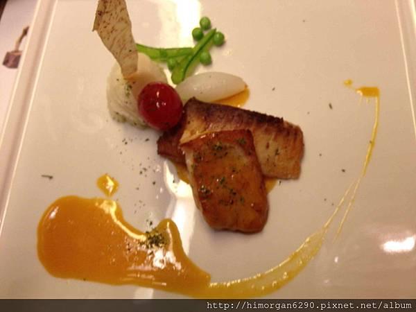 台中文華道會館橙汁鯛魚佐番茄莎莎
