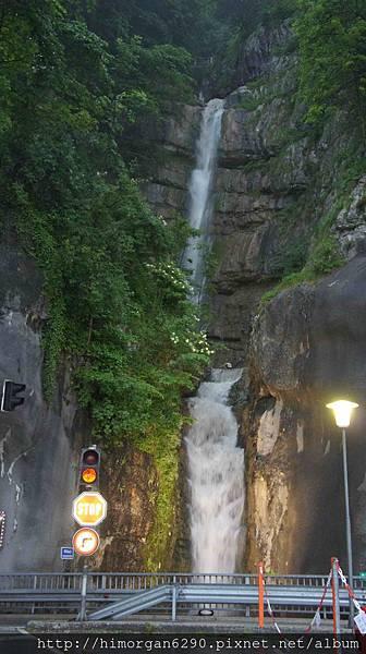 Austria Hallstatt waterfall