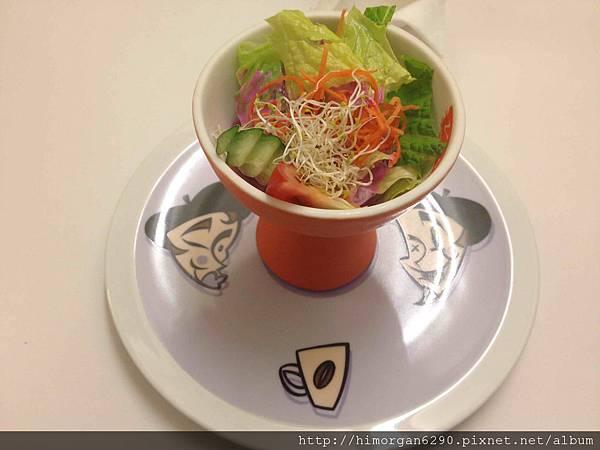 膾炙餐坊晚餐沙拉