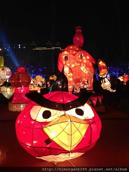 2013新竹燈會-憤怒鳥
