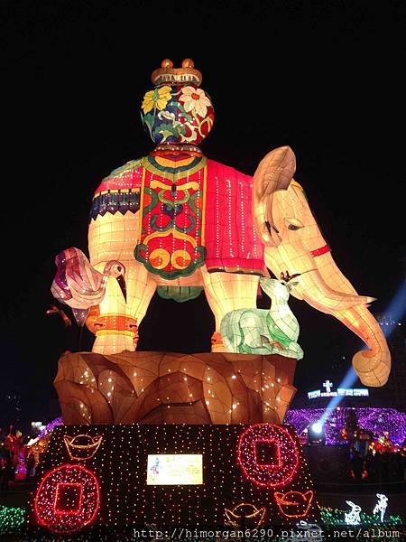 2013新竹燈會-大象