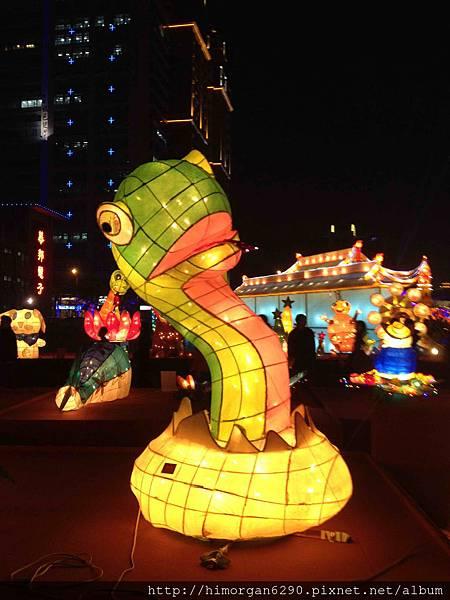 2013新竹燈會-蛇