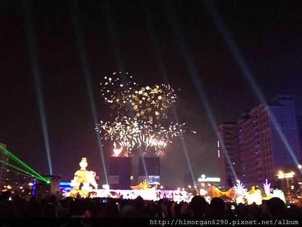 2013新竹燈會-煙火