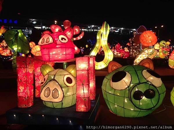 2013新竹燈會-憤怒鳥-1