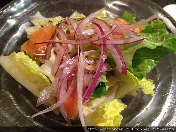 水舞饌-生鮭和風沙拉