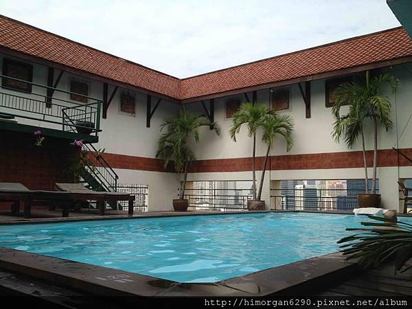 泰國-Pinnacle Lumpinee-swimming pool