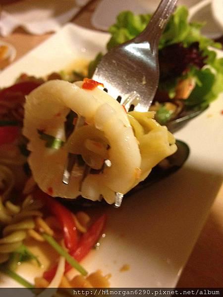 泰國-Bug&Bee海鮮沙拉-1