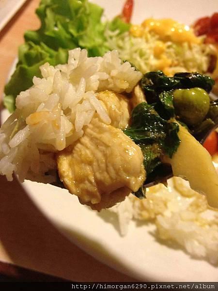 泰國-Bug&Bee綠咖哩雞飯-1