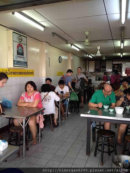 泰國-水門市場海南雞飯-1