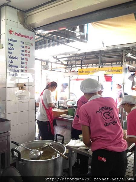 泰國-水門市場海南雞飯-2