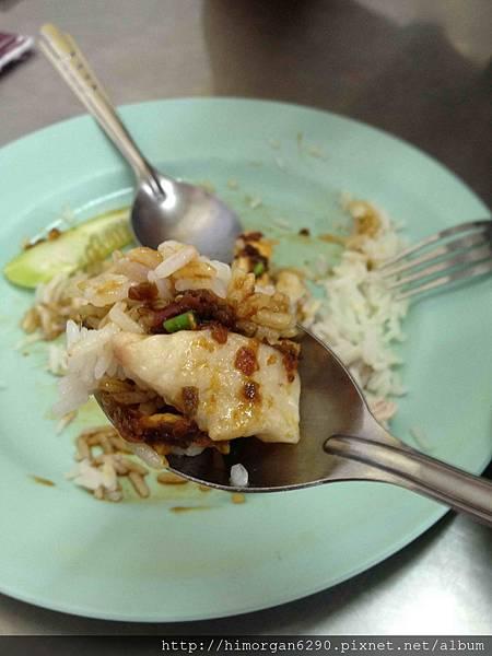 泰國-水門市場海南雞飯-海南雞飯-4