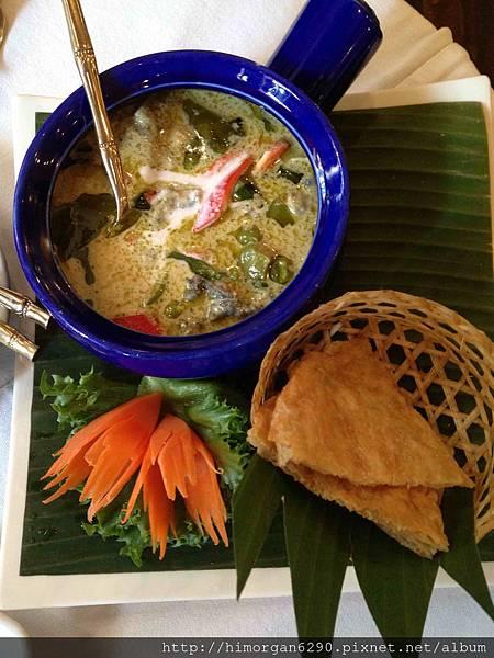 泰國-Blue Elephant主菜-4