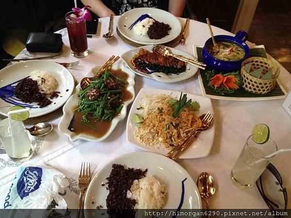 泰國-Blue Elephant主菜