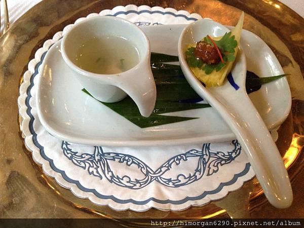 泰國-Blue Elephant前菜-1