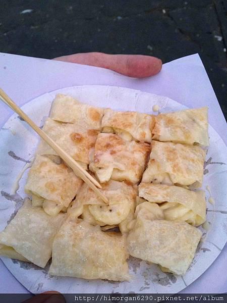 泰國-考山路香蕉煎餅-9