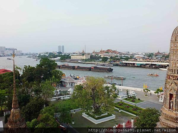 泰國-鄭王廟-景色