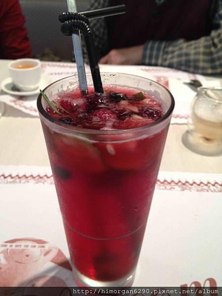 恬心朵朵-莓果冰茶