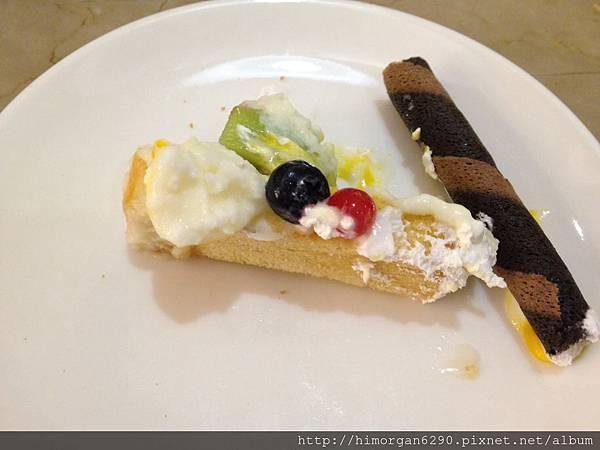 胖達咖啡輕食館-水果派對蜜糖吐司-3