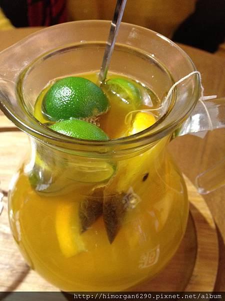 胖達咖啡輕食館-新鮮水果茶-2