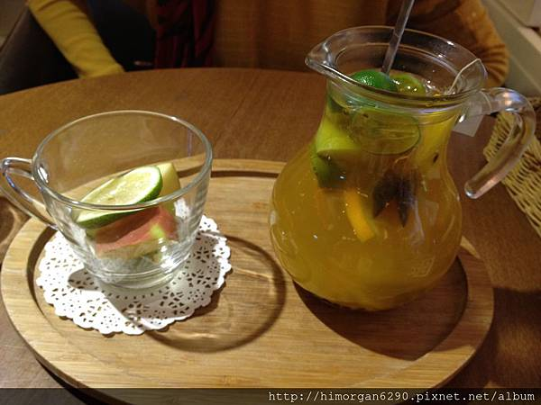 胖達咖啡輕食館-新鮮水果茶