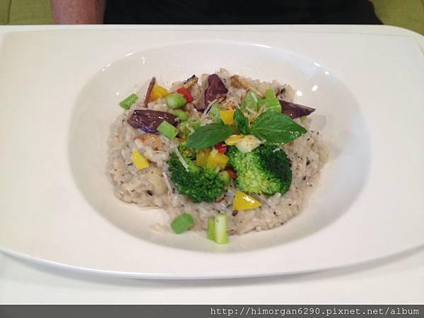 晨市輕食-松露蘑菇燉飯