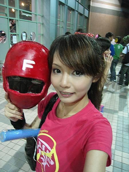 A.T做的友情戰隊的面具