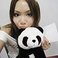 跟熊貓一起打工發傳單