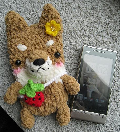 我的小柴犬+新手機