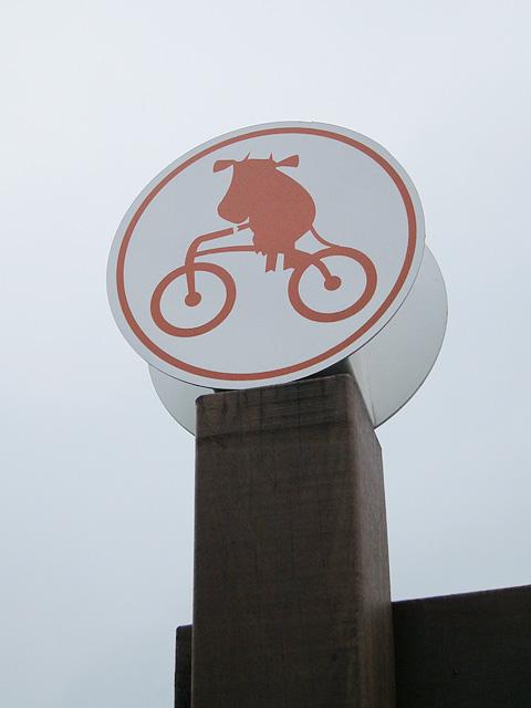 牛騎腳踏車~XD