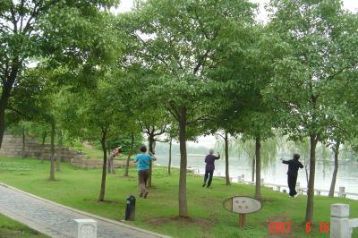 苏州,公交車之旅--桂花公園2(96.6.16)