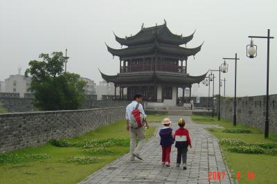 苏州,公交車之旅--桂花公園7(96.6.16)