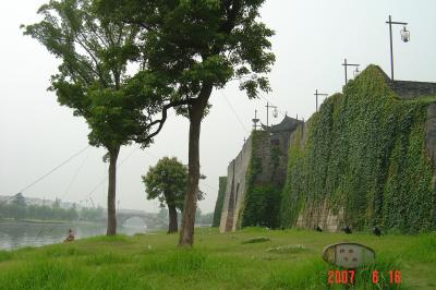 苏州,公交車之旅--桂花公園9(96.6.16)