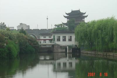 苏州,公交車之旅--桂花公園10(96.6.16)