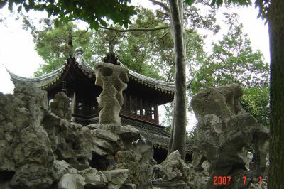 苏州,假山王國獅子林8(96.7.1)