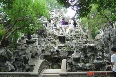 苏州,假山王國獅子林9(96.7.1)