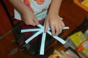 琳琳的勞作課:風車5(96.7.3)