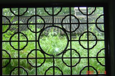 苏州园林的趣味(3):窗格的基本圖案1(96.7.15)