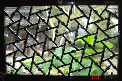 苏州园林的趣味(3):窗格的基本圖案2(96.7.15)