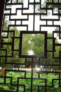 苏州园林的趣味(3):窗格的基本圖案7(96.7.15)