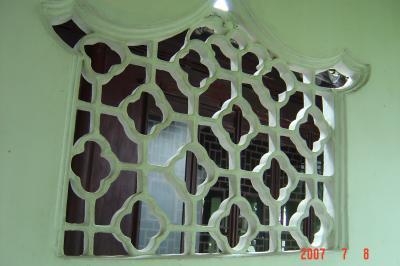 苏州园林的趣味(4):滄浪亭的108式花窗3(96.7.17)