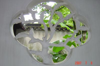 苏州园林的趣味(6):琴棋書畫+春夏秋冬6(96.7.20)