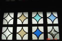 蘇州園林的趣味(7):獅子林的彩色花窗入畫來6(96.7.26)